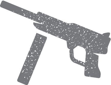 Grunge icon - Vintage Firearm
