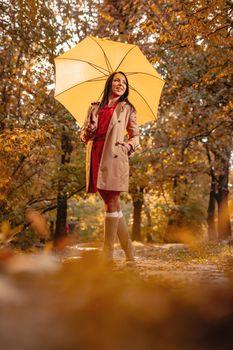 Happiness Under Umbrella