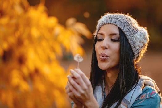 Making A Dandelion Wish
