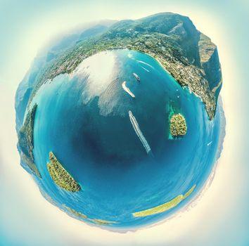 Planet Of Paradise Sea