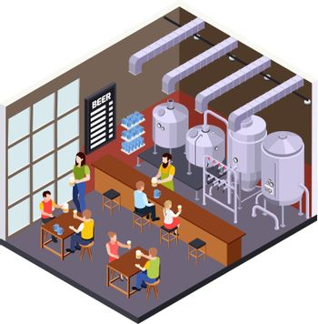 Beer Brewery Pub Composition