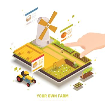 Mobile Farm Gaming Composition