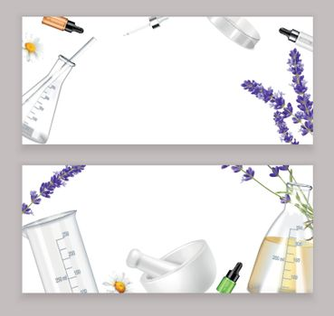 Aromatherapy Realistic Banners