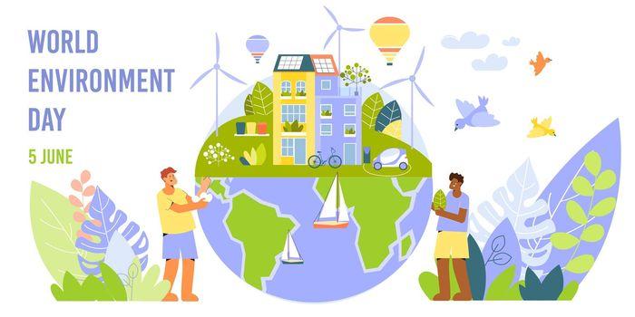 Environment Day Horizontal Banner