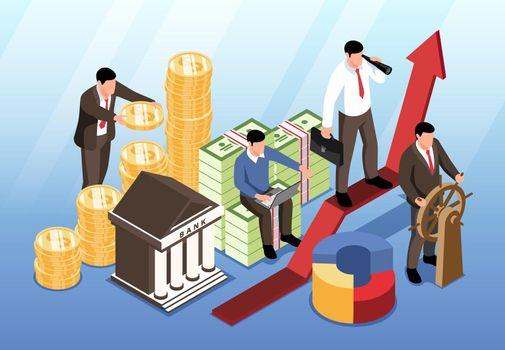 Investment Horizontal Illustration