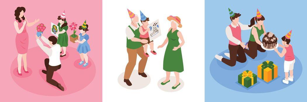 Birthday Congratulation Concept Design