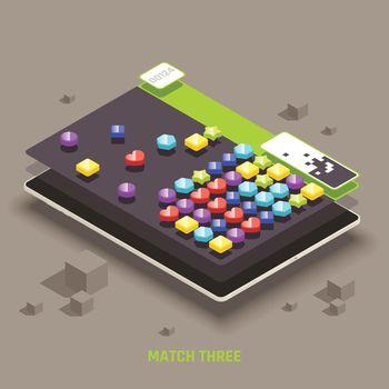 Educative Isometric Mobile Gaming