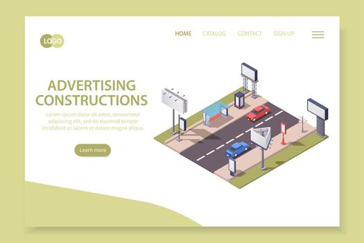 Advertising Constructions Page