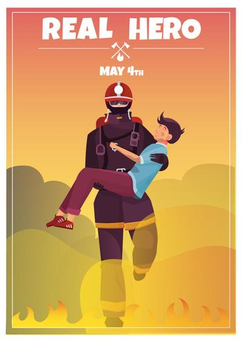 International Firefighters Day Card
