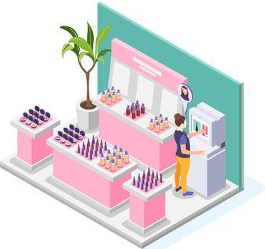 Virtual Makeup Selection Composition