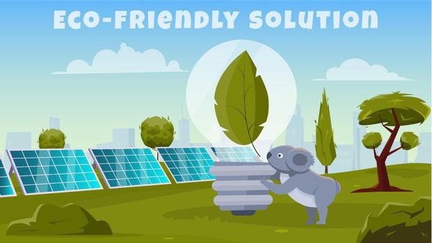 Eco Friendly Solution Background