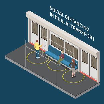 Public Transport Distancing Composition