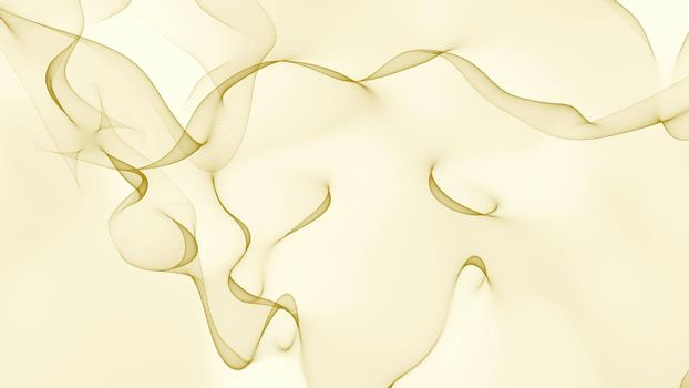 Golden abstract background. texture caustic pattern