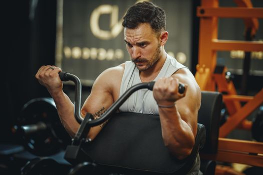Building Up His Muscle Mass
