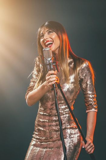 Singing Is Her Passion