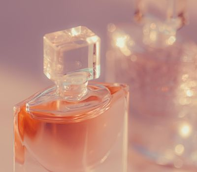 Floral scent and feminine perfume, perfumery as luxury beauty and cosmetic product
