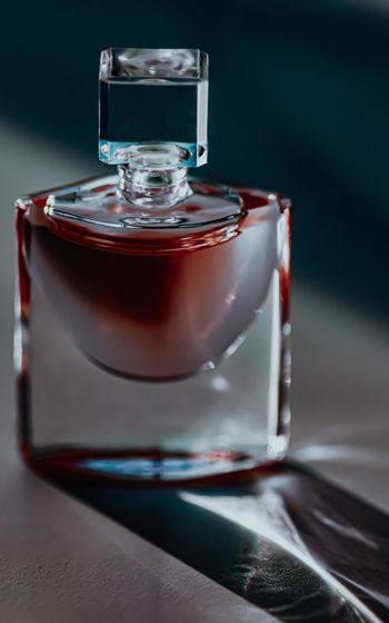 Male perfume scent in luxe bottle at night, perfumery as luxury beauty and cosmetic product