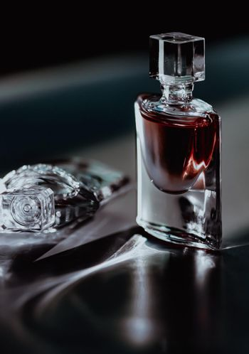 Night scent in luxe perfume bottle, perfumery as luxury beauty and cosmetic product