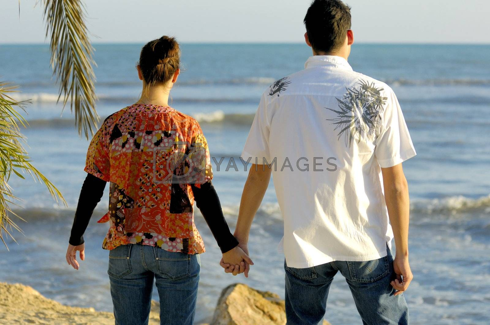 Love couple by swimnews