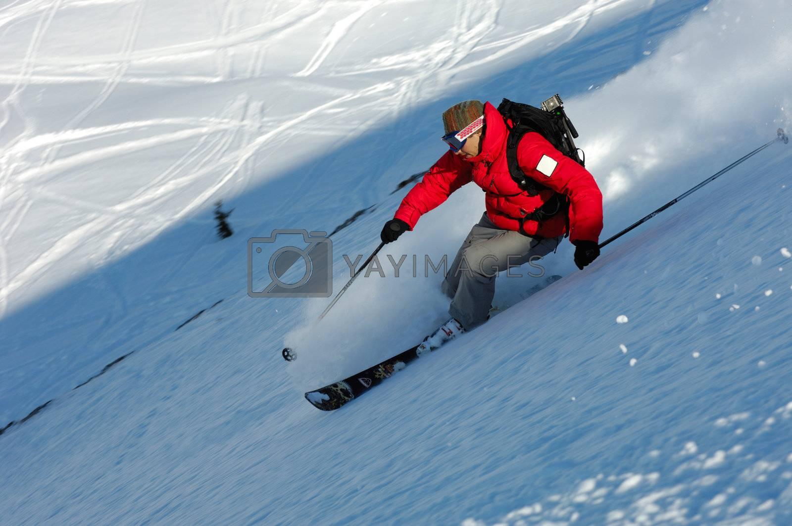 Extreme ski by swimnews