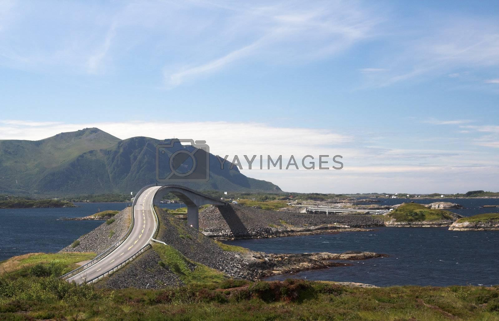 Atlantic road, Norway by MikLav