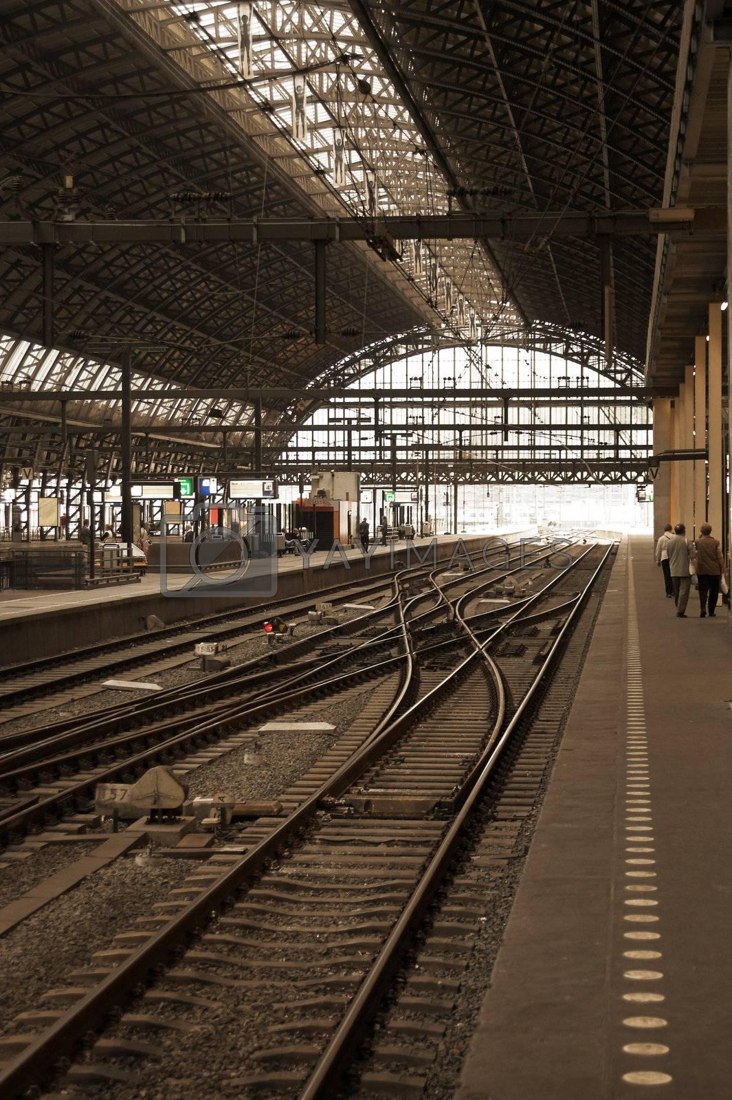 railway station by MikLav