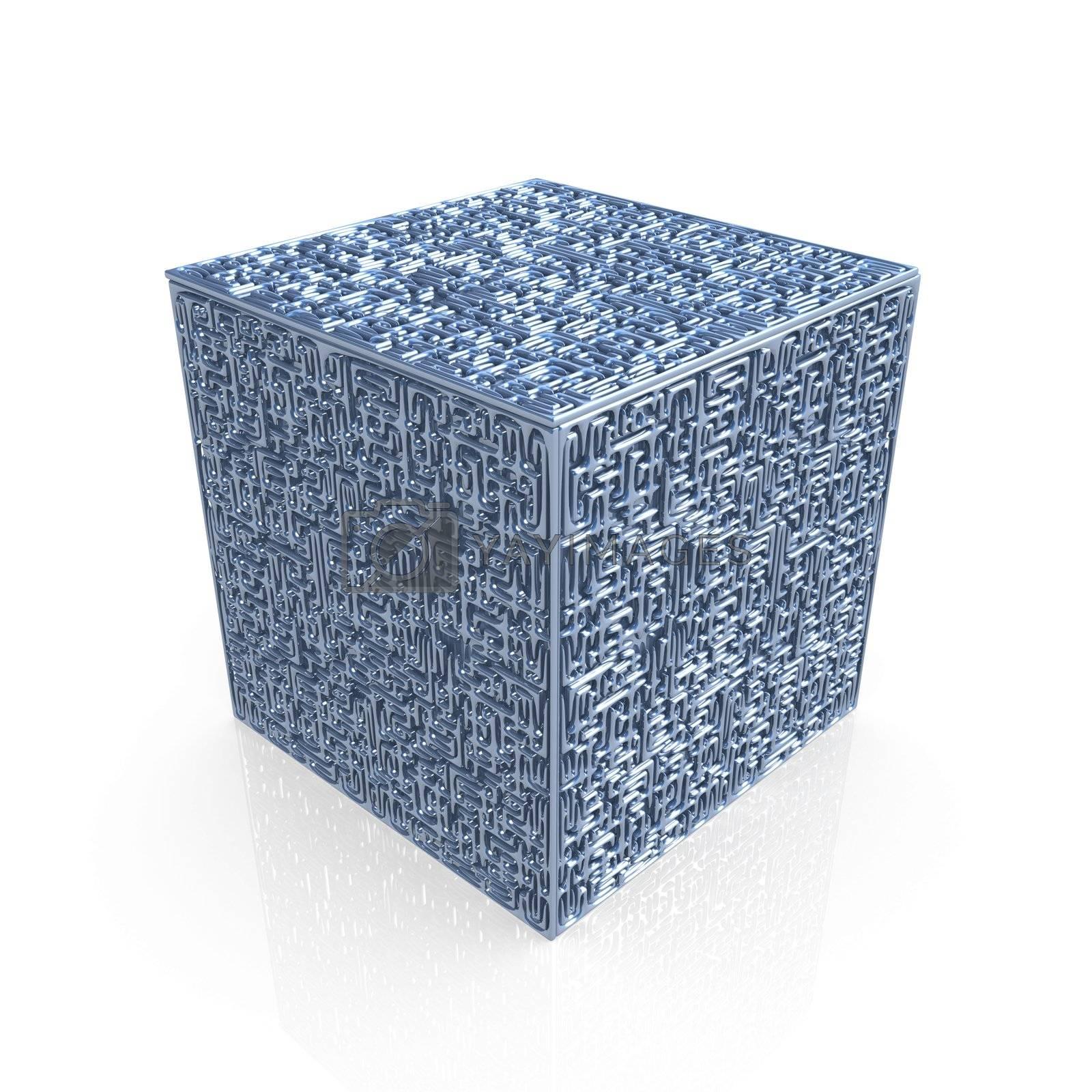 Maze Cube by 3pod