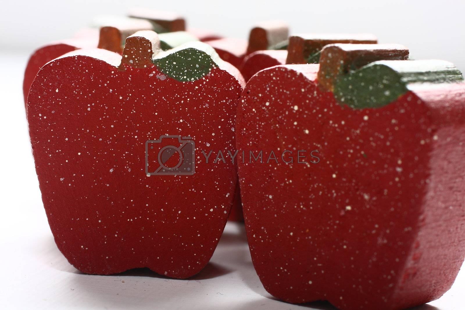 Wooden Apples by dersankt