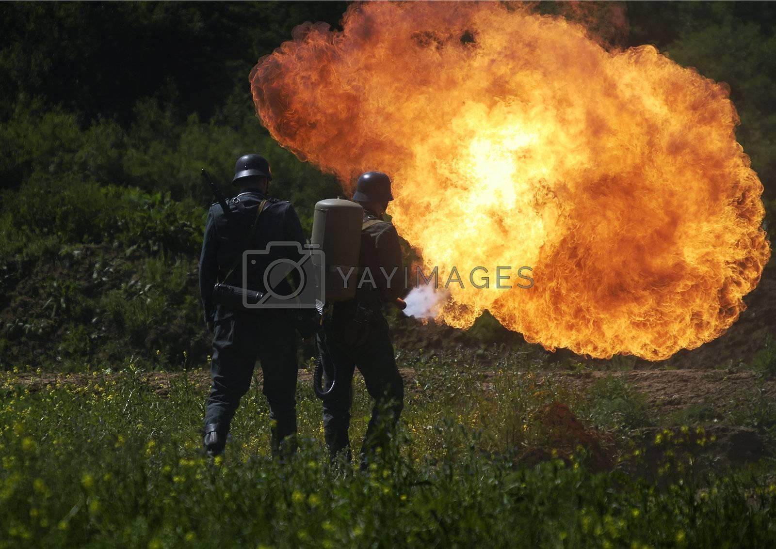 Flamethrower  by martinspurny