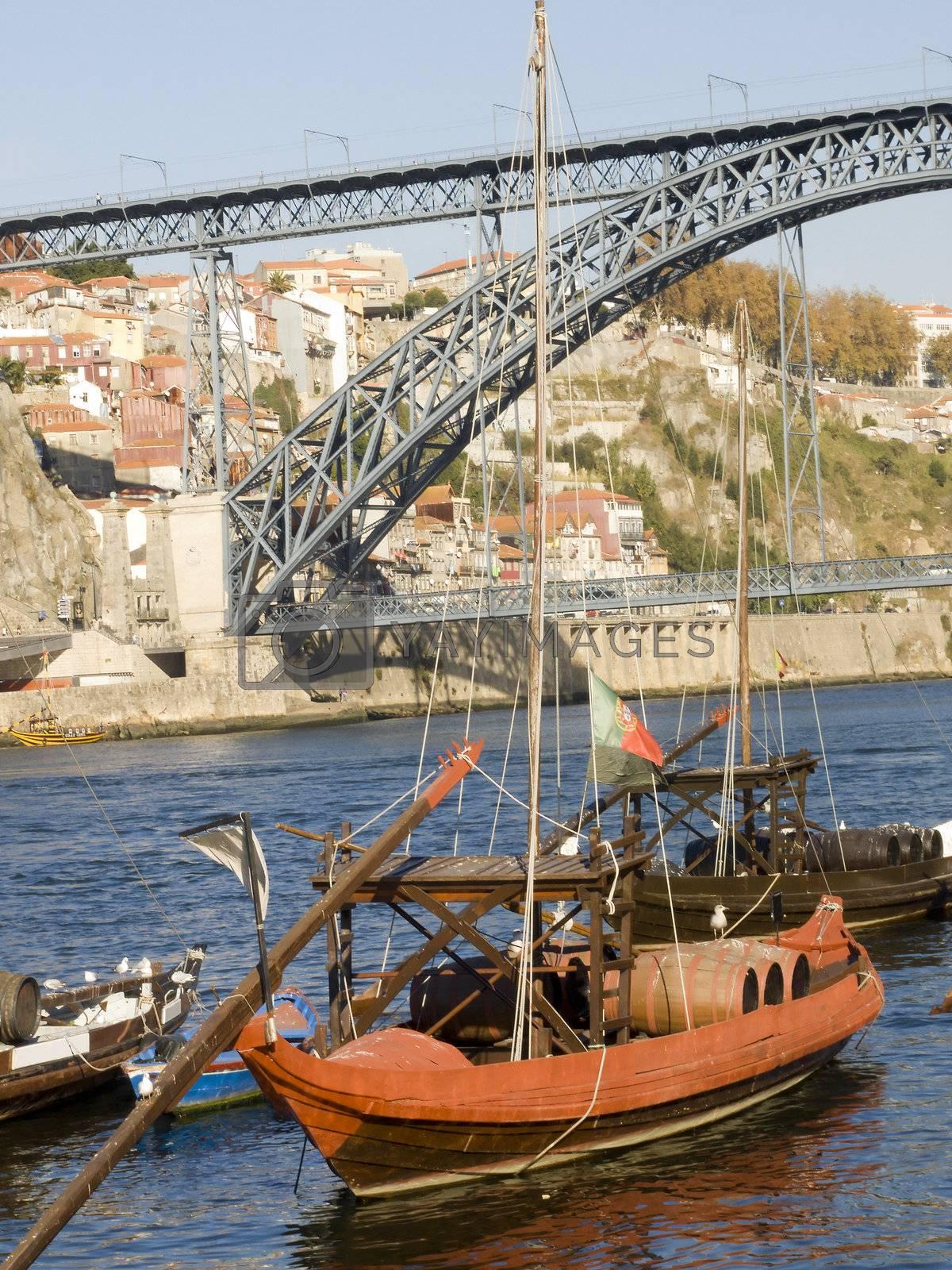 Tradicional rebelo boat by PauloResende