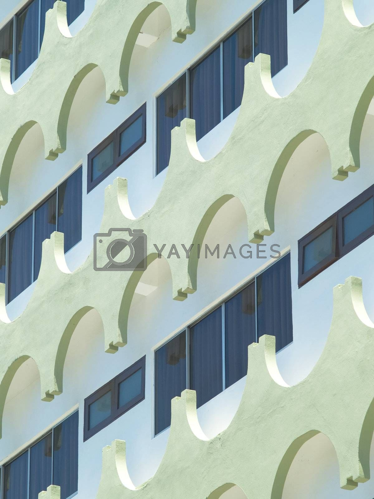 Architectural abstract by epixx