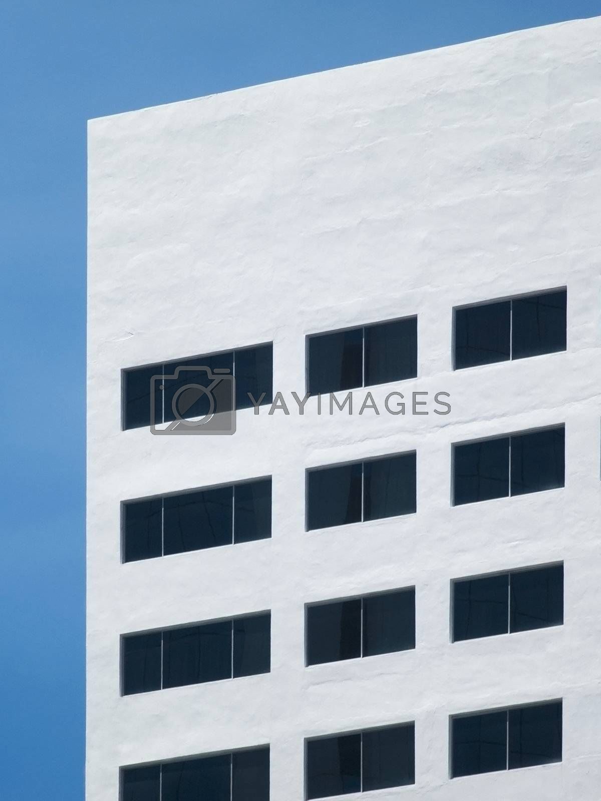 White office building by epixx
