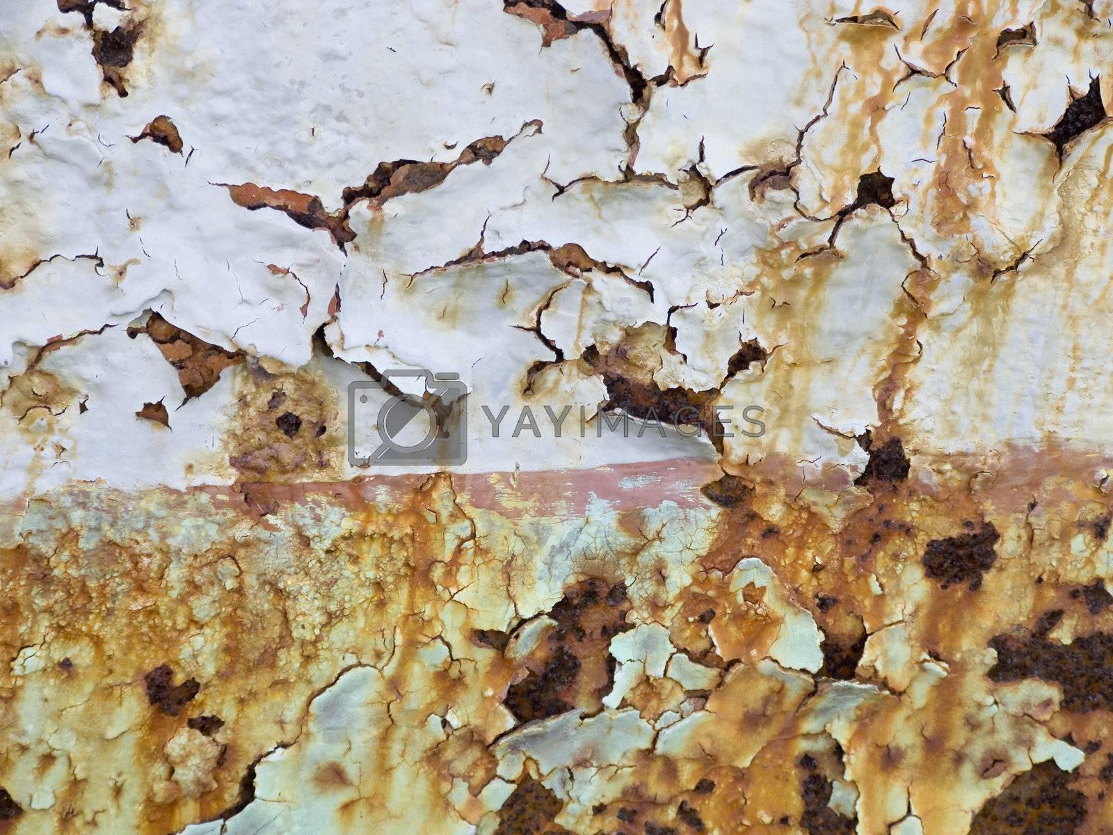 Grunge rusty background by PauloResende