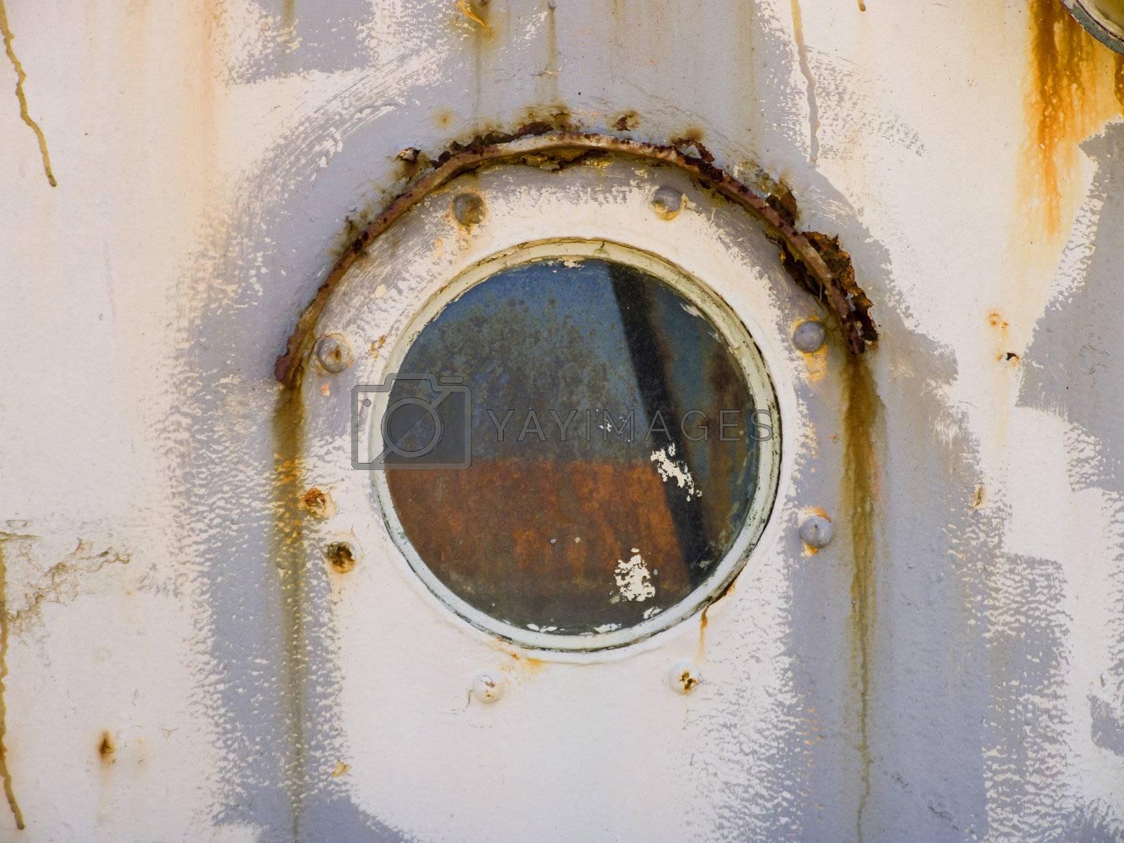 Rusty old window by PauloResende