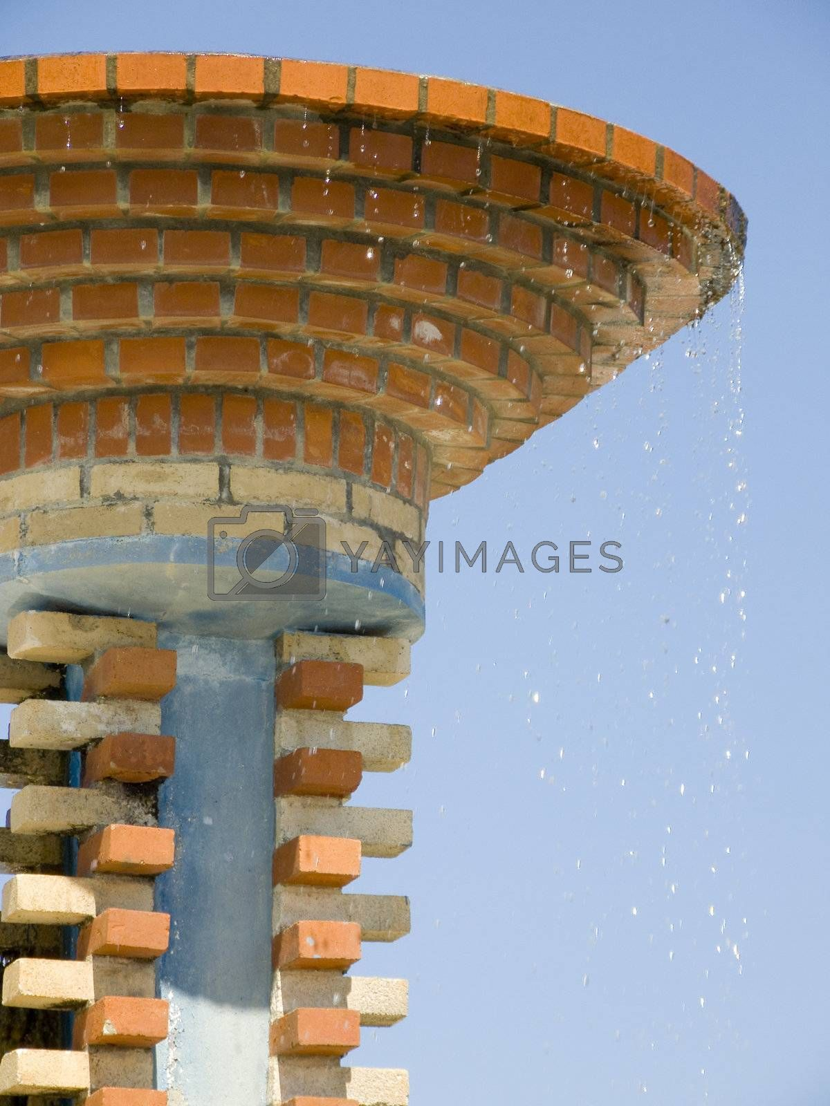 strange fountain by PauloResende