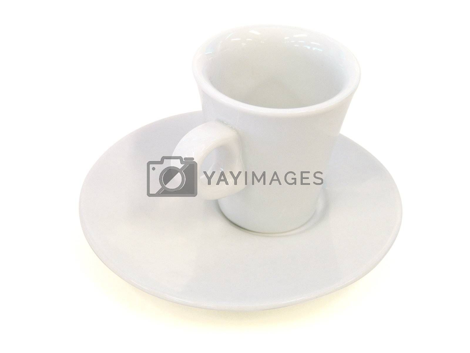 Porcelain cup isolated on white - Path inclued  by PauloResende