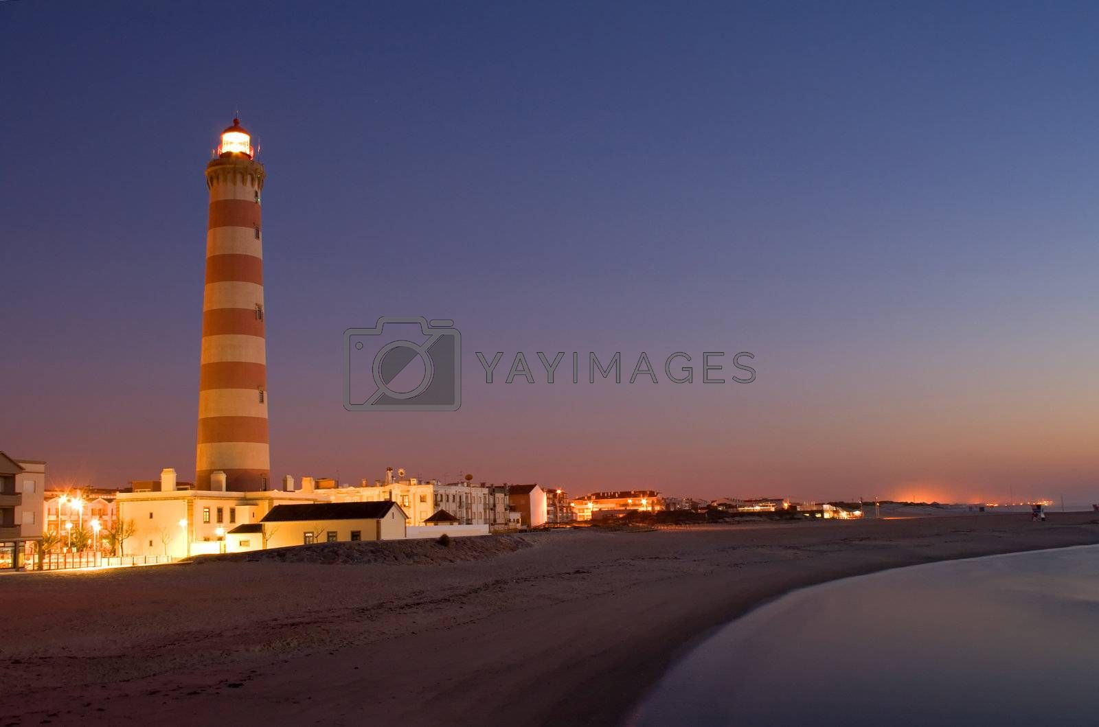 Lighthouse in Aveiro in Portugal by PauloResende