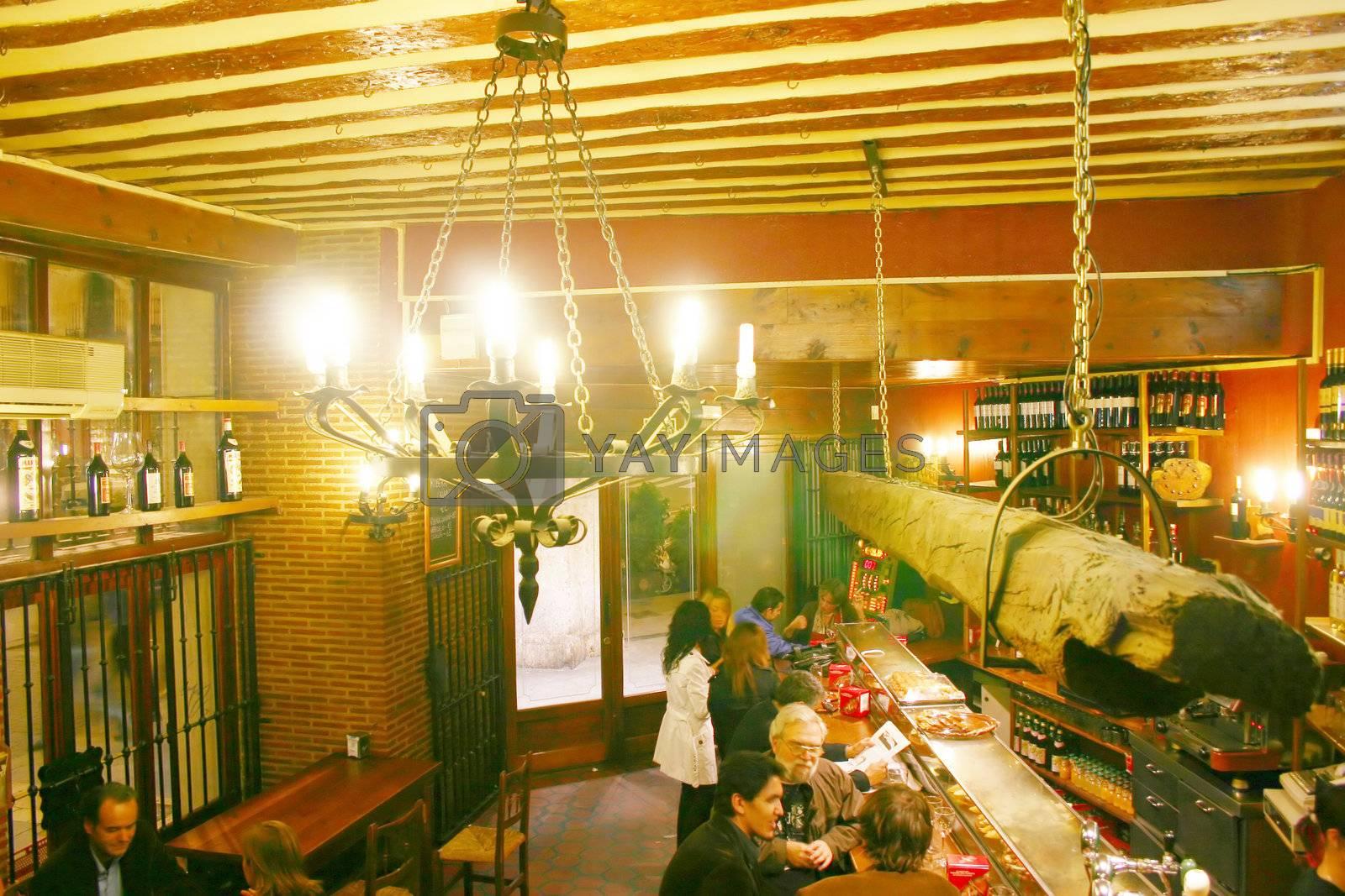 typical spanish tapas bar