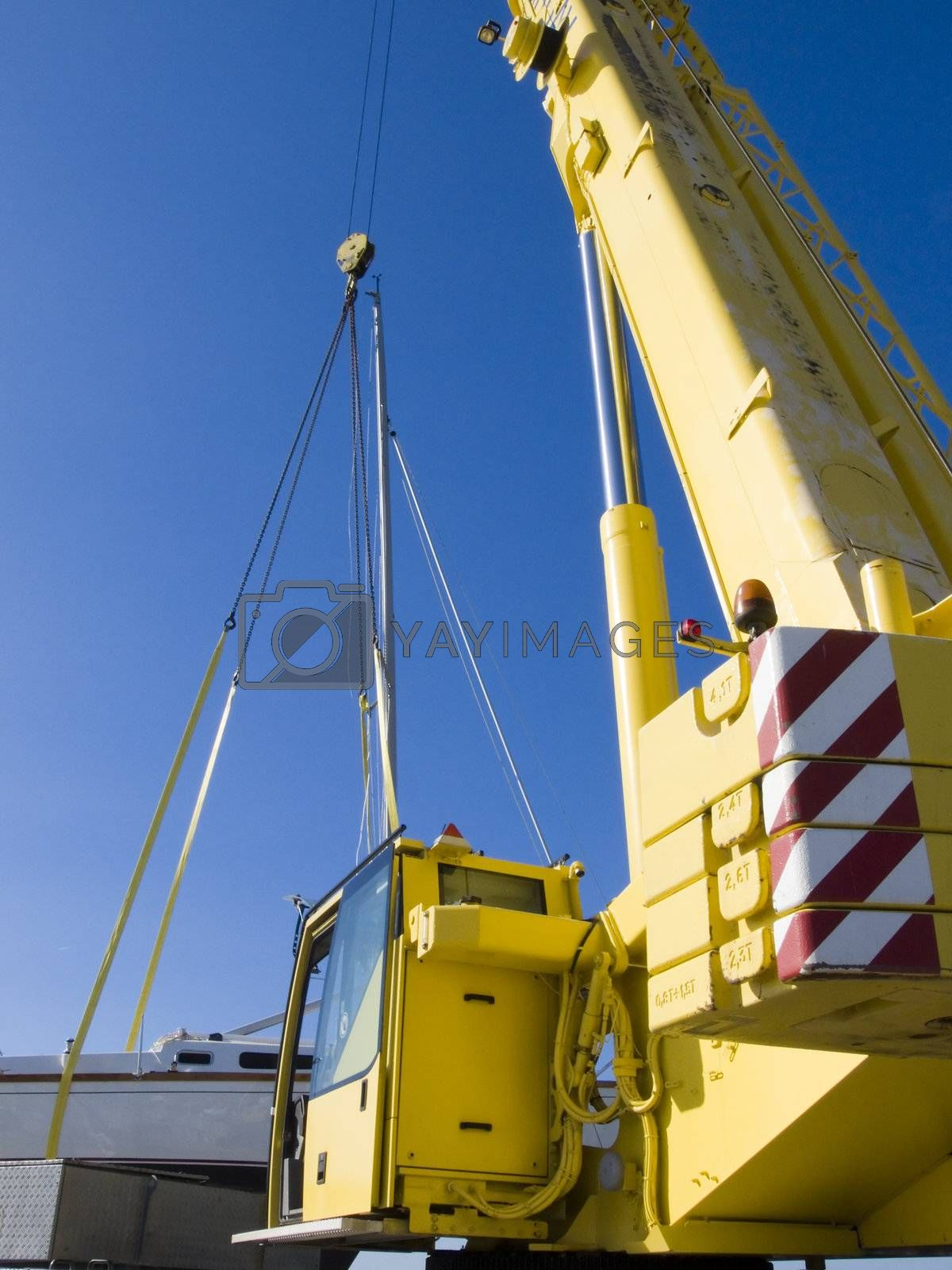 Autocrane unload a ship by PauloResende