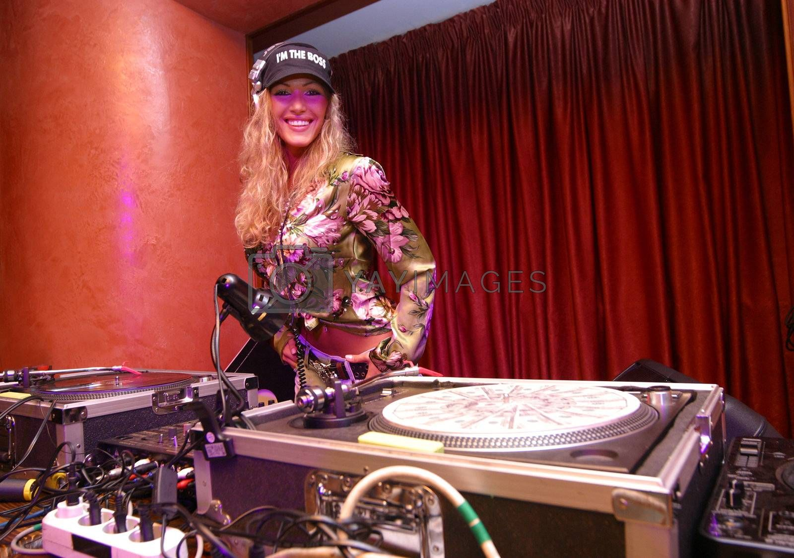 Known Russian dj-girl Benzina