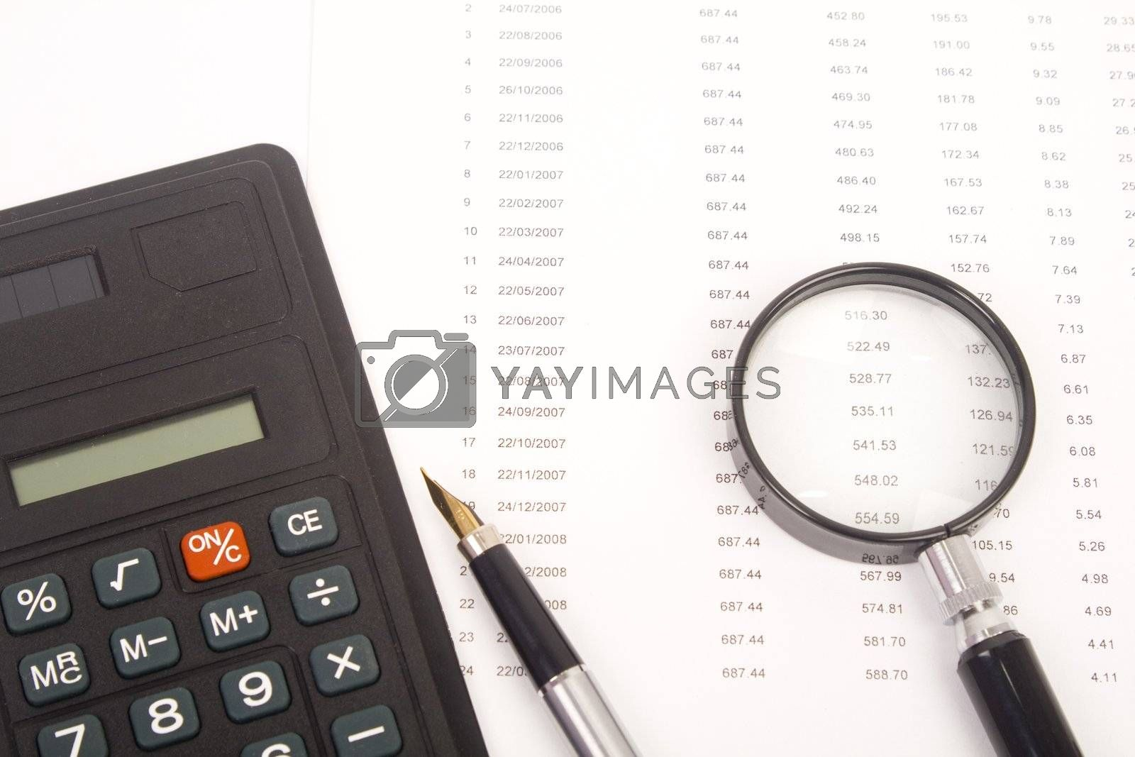 good financial caculate on the financial sheet