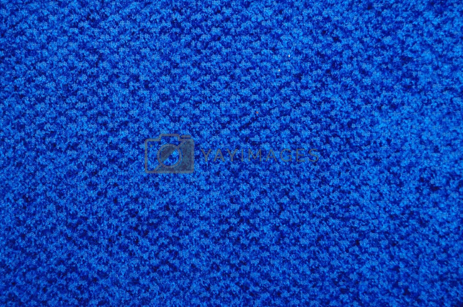 Blue textile background