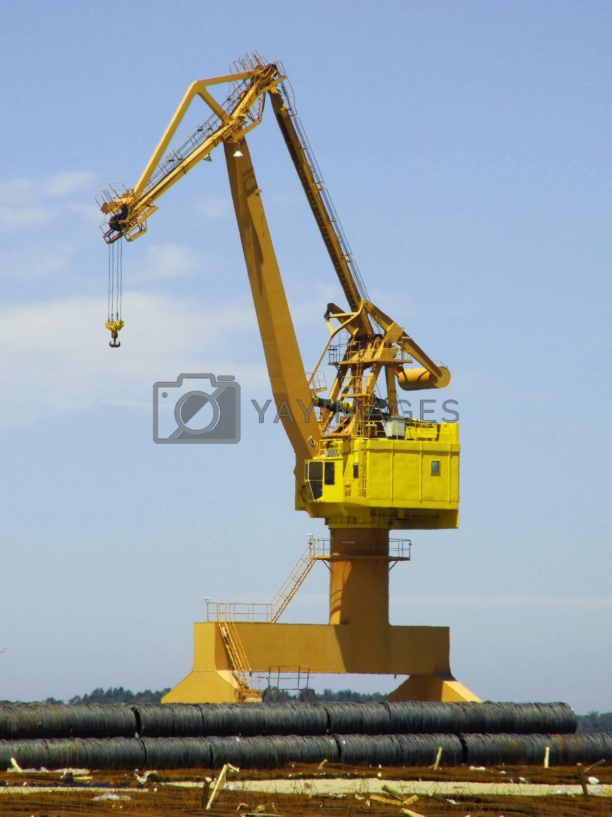 Dock crane by PauloResende