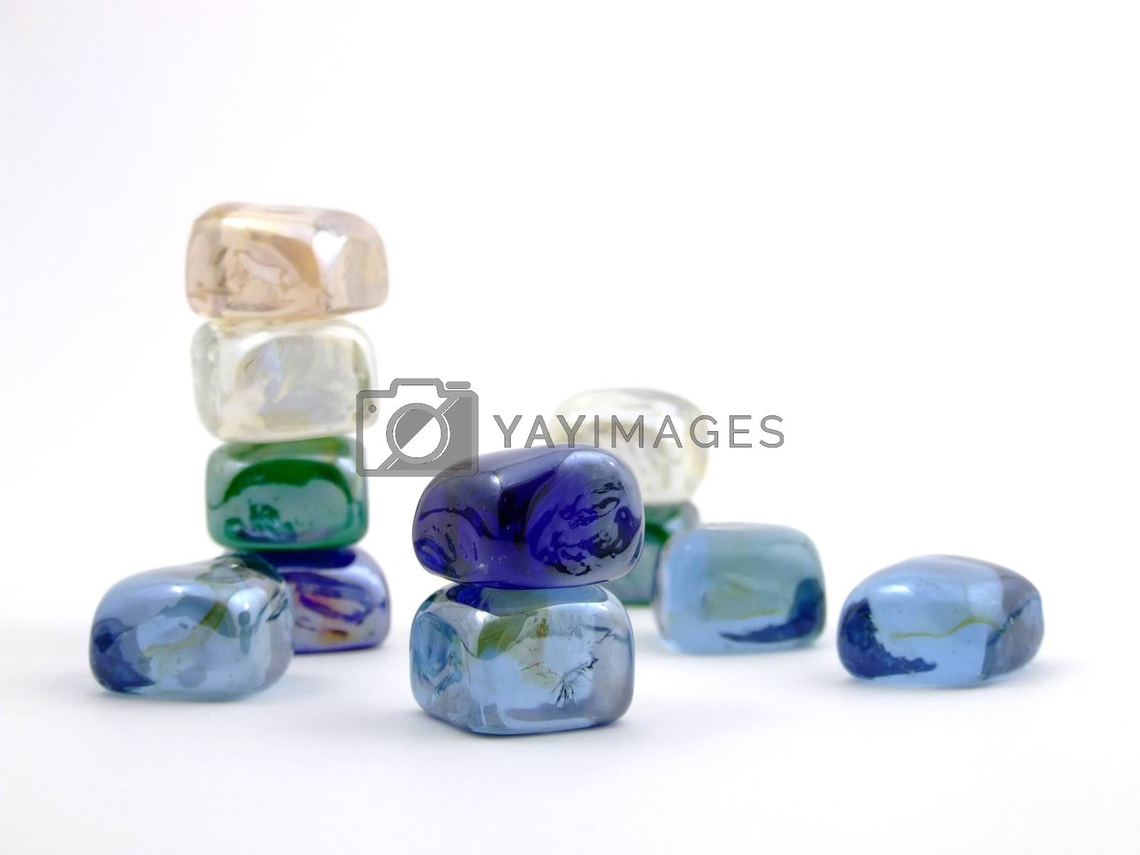 Colorful Glass Stone Background by PauloResende