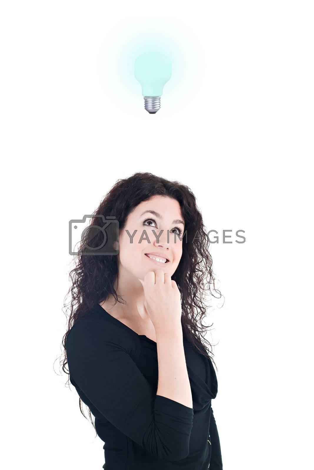 Royalty free image of Bright Idea by ajn