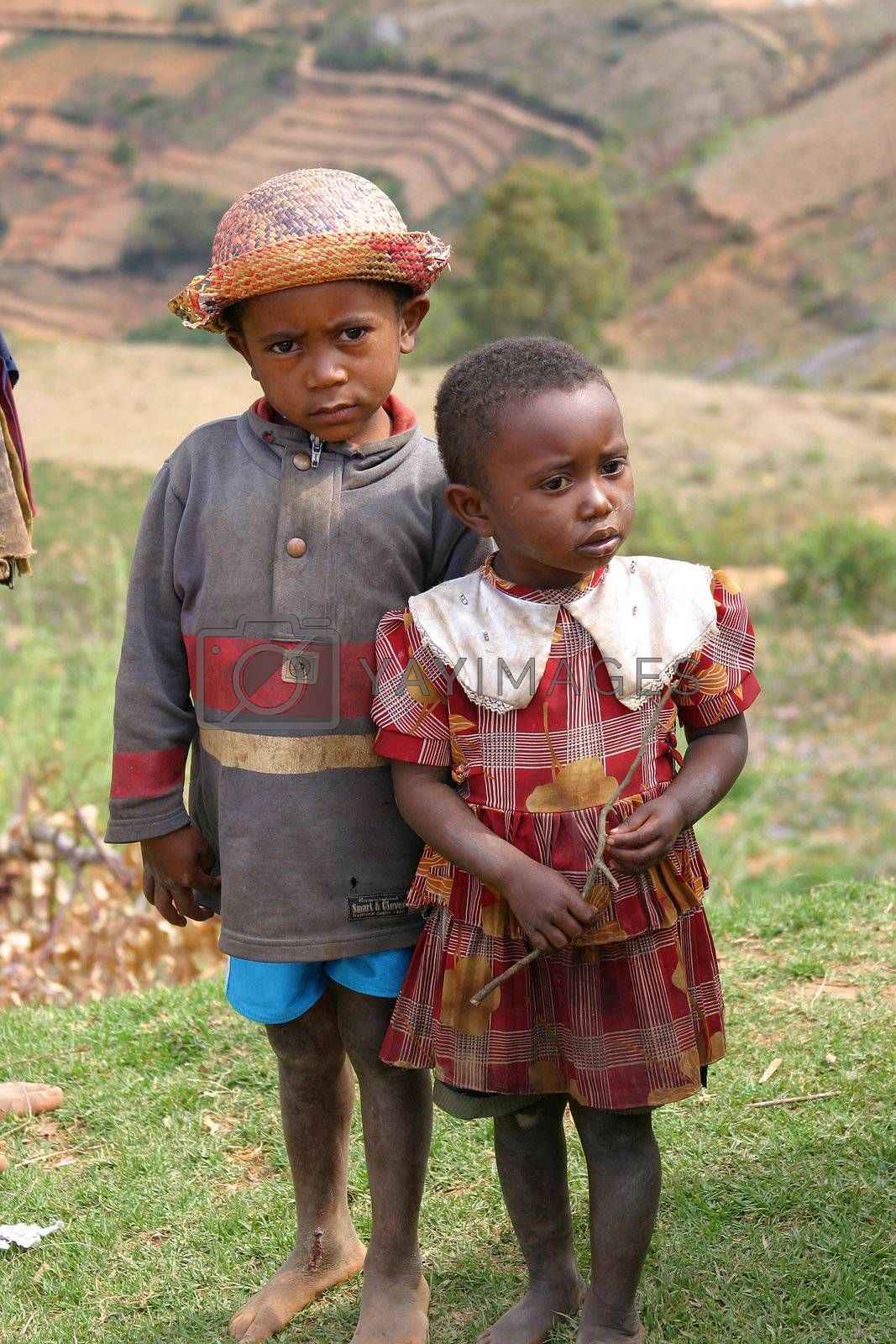 Children is the one thing that Madagascar is not short of