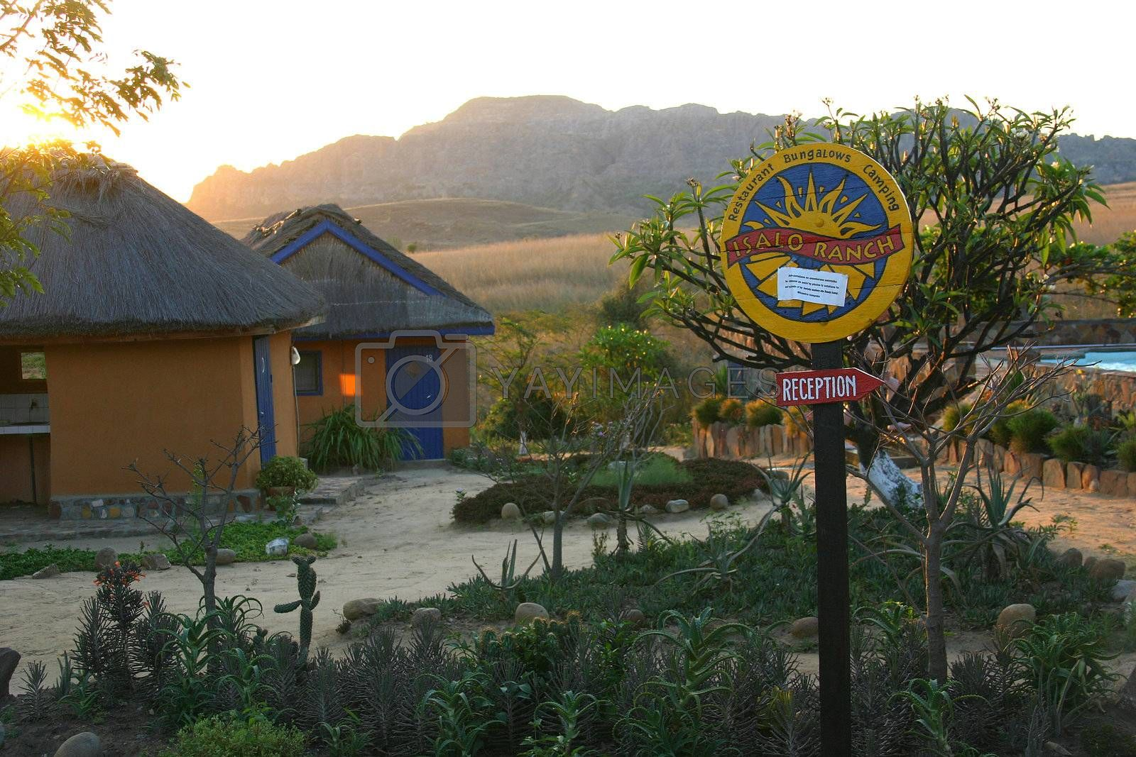 Isalo Ranch; an oasis in the middle of the heat