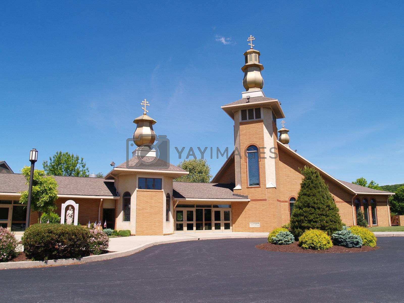 SS Peter and Paul Byzantine Catholic Church in Bethlehem, Pennsylvania, United States
