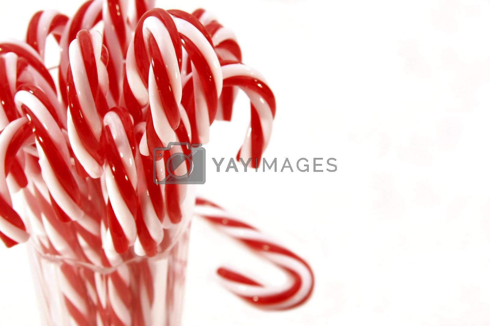 Lots of candy canes by Sandralise