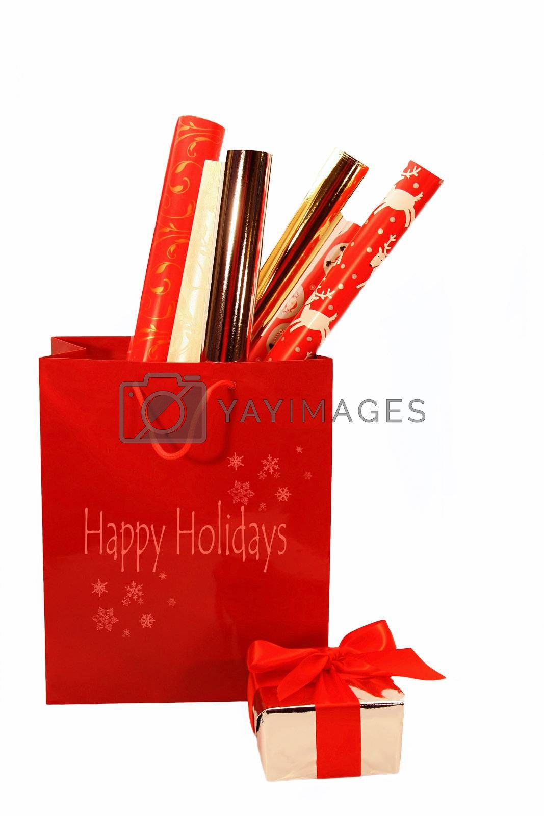 Holiday wrappings by Sandralise